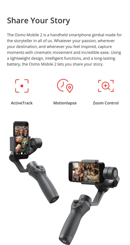 DJI Osmo Mobile 2 Modes