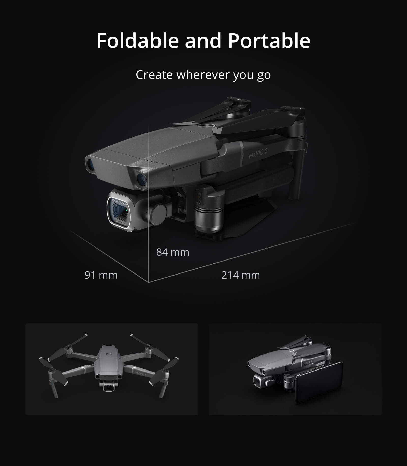 Buy DJI Mavic 2 Pro drone with 4K Hasselblad camera