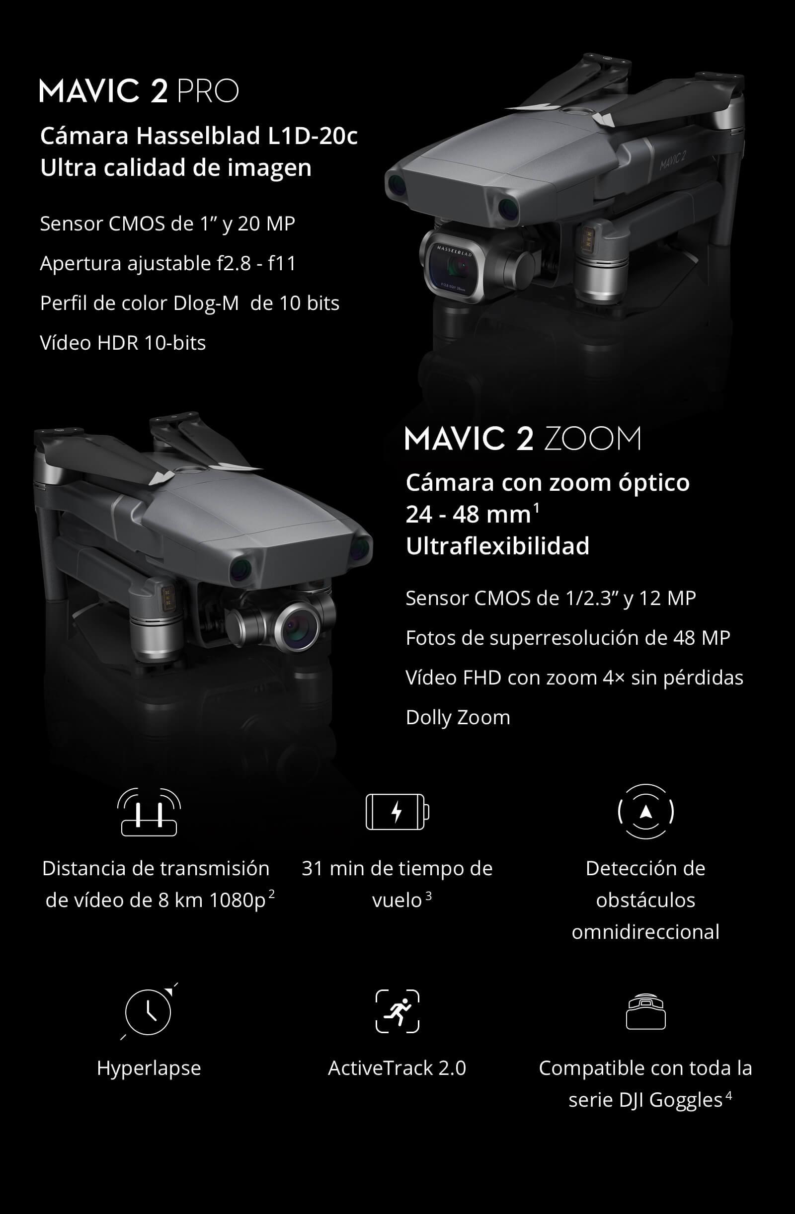 DJI Mavic 2 comprar barato al precio minimo de oferta con cupón descuento. Con envío GRATIS Libre de aduanas para España.