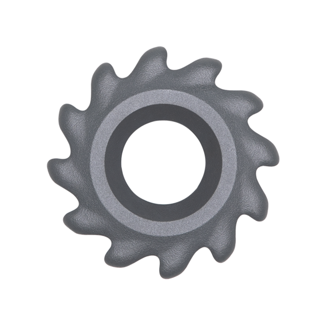 Right-Threaded Outer Hub