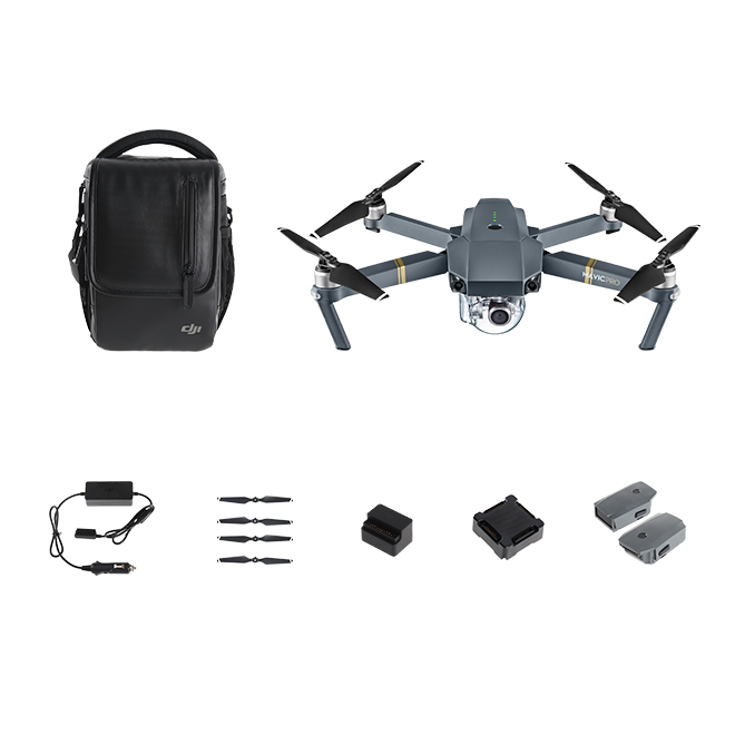 Mavic Pro Fly More Combo With Free Training