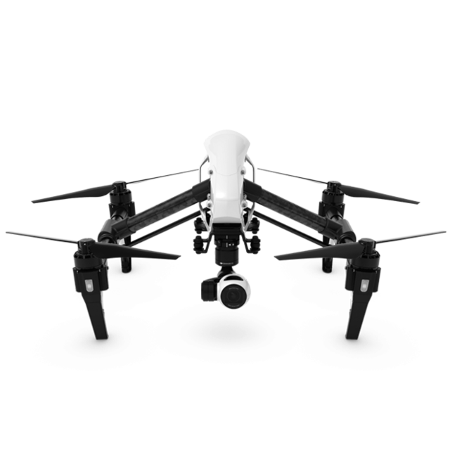 Inspire 1 V2.0 - Aircraft (Excludes Remote Controller and Battery Charger)
