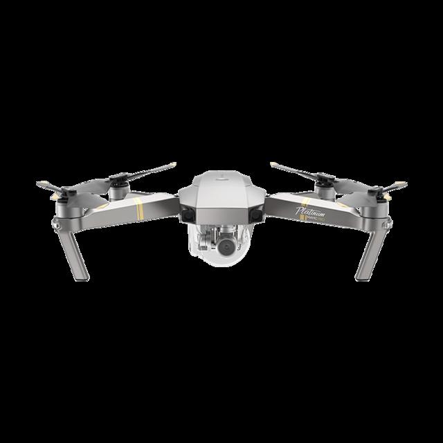 Mavic Pro Platinum - Portable 4K Drone with Reduced Noise